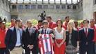 El Girona fue recibido en la Generalitat de Catalunya