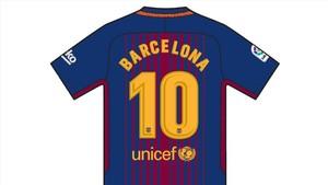 El Barça lucirá una camiseta especial en domingo en memoria de las víctimas de los atentados