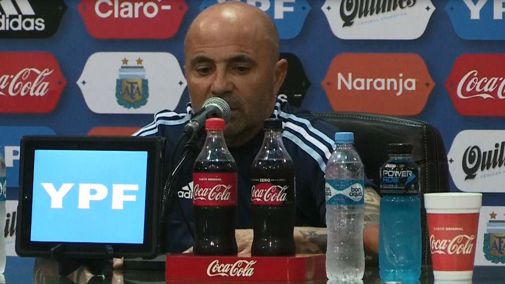 Sampaoli habló tras el empate de Argentina