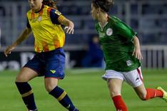 Alexia fue elegida la mejor jugadora del partido