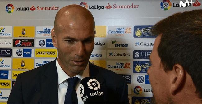 As� explic� Zidane la sustituci�n de Cristiano