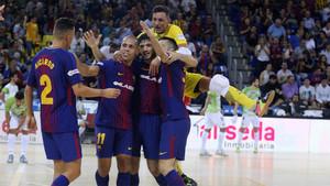 El Barça Lassa se impuso con autoridad al Levante en el Palau