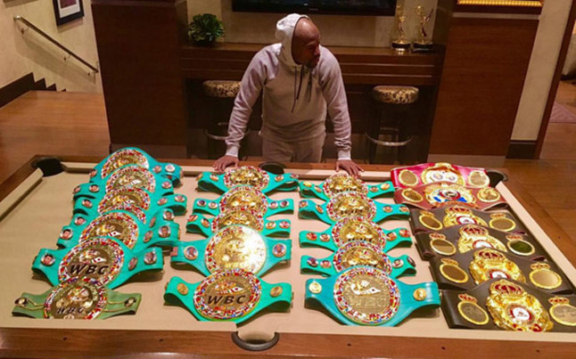 Floyd Mayweather: todo lo que toca se convierte en oro