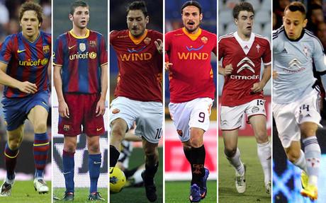 Font�s, Ilie, Totti, Osvaldo, Aurtenetxe y Orellana tambi�n tuvieron segundas oportunidades con Luis Enrique