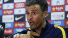 Luis Enrique se queda 'af�nico' ante el futuro de Neymar