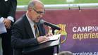 Manel Vich: su hijo ser� el nuevo 'speaker' del Camp Nou