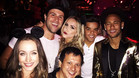 Neymar, en la fiesta