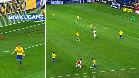 Neymar recorrió el campo para marcar un golazo