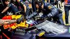 Ricciardo ha estrenado la nueva cabina de Red Bull