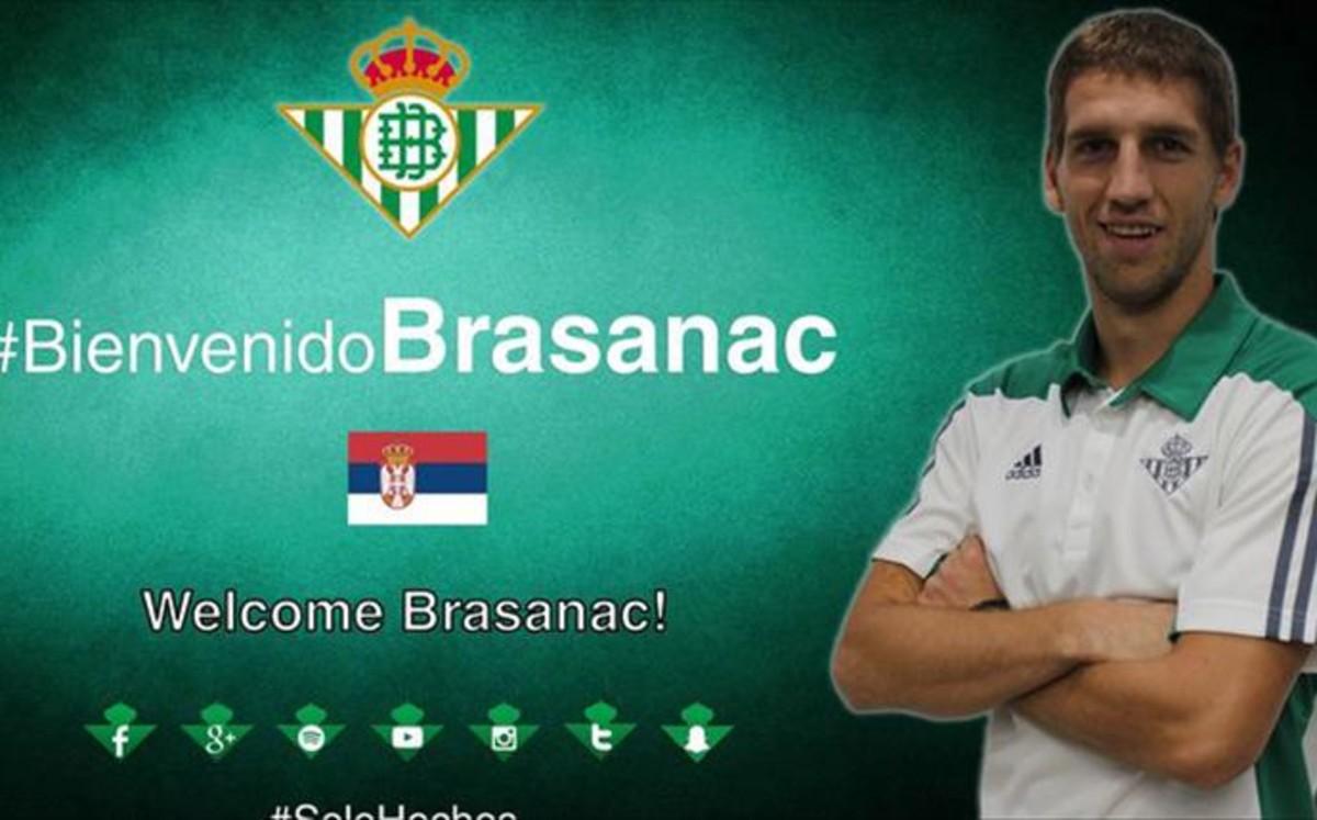 El serbio Brasanac firma con el Betis por cinco temporadas