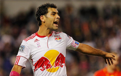 Rafa M�rquez milita en los New York Red Bulls