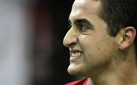 Almagro aceptó la derrota con deportividad
