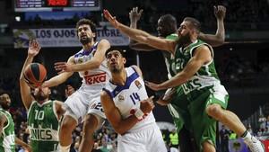 El Real Madrid ya se impuso al Unics en el duelo de la primera vuelta