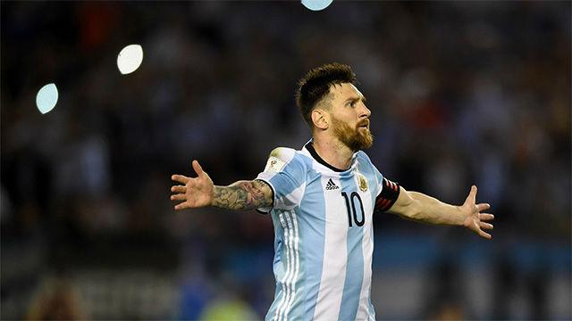 Así celebró Leo Messi