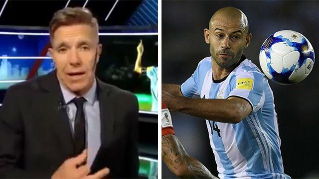 La toman con Mascherano en Argentina