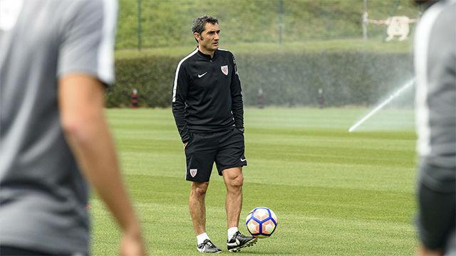 Valverde, cerca del Barça