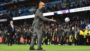 Guardiola comandará este curso el proyecto más ambicioso del Manchester City