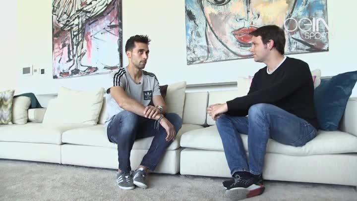 Arbeloa, durante la entrevista con BeIN Sports