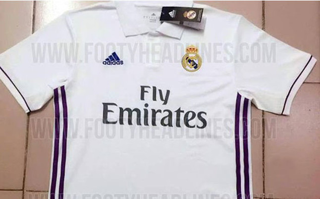 camiseta del real madrid original 2016