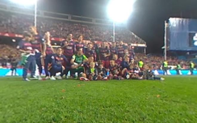 La celebraci�n de la Copa del Rey