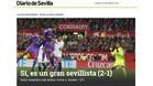 La prensa sevillista se mofa de Sergio Ramos