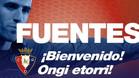 Fuentes, un refuerzo clave para la defensa de Osasuna