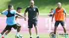 Guardiola tambi�n trabaja�intensamente con la cantera en el Manchester City