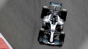 Hamilton, a ritmo de récord en Abu Dhabi