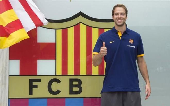 Koponen est� muy orgulloso de formar parte del FC Barcelona