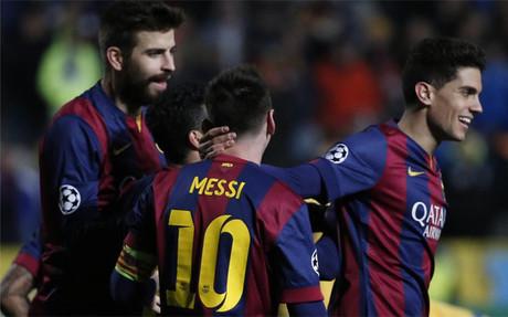 Messi y compa��a saben que el partido ante el PSG ser� a cara o cruz