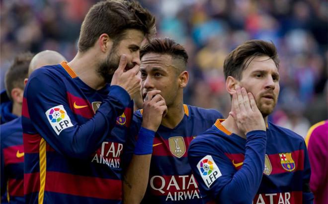 Piqu� y Neymar mantienen una muy buena relaci�n