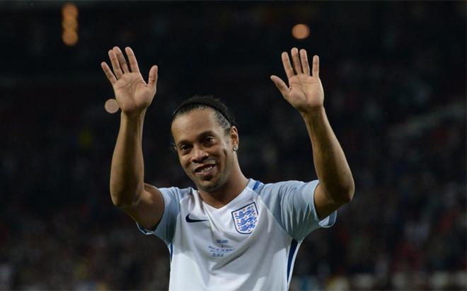 Ronaldinho, jugador del Cienciano