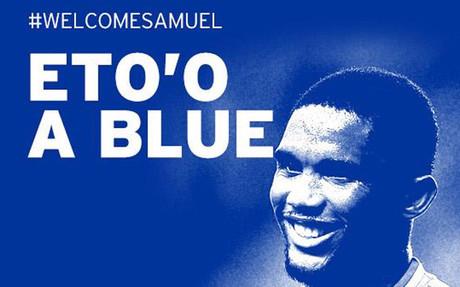 Samuel Eto'o jugar� en el Everton