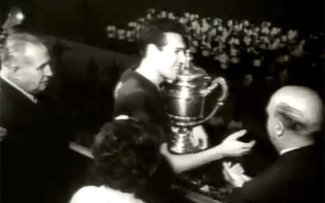 Segarra, con la �ltima Copa de Espa�a conquistada por el Bar�a en Barcelona