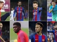 El uno por uno de los jugadores del FC Barcelona tras la primera vuelta