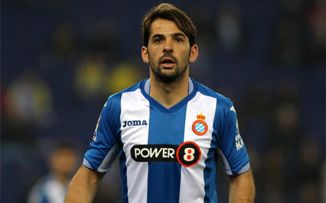 V�ctor S�nchez, uno de los capitanes del Espanyol