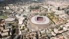 Fotografía virtual del aspecto definitivo del Espai Barça
