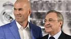 Florentino cruza una frontera con Zidane