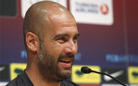 Guardiola repas la actualidad del Bara