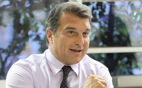 Laporta, descontento con la actual directiva del Bara