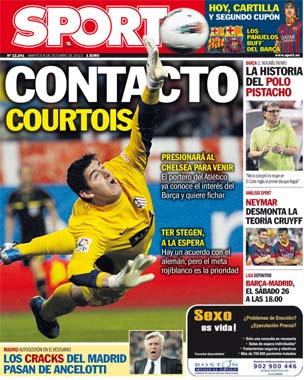 Thibaut Courtois wants to leave Chelsea & sign for Barcelona [Sport]