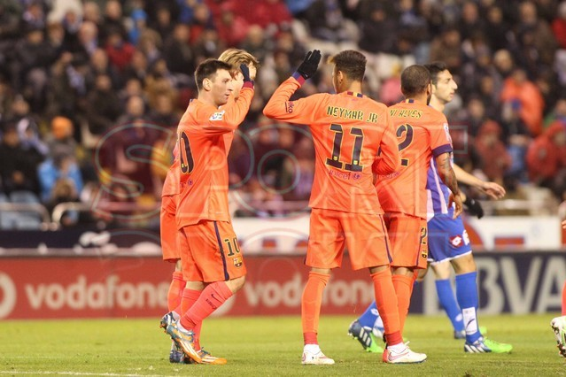 صور : مباراة ديبورتيفو لاكورونيا - برشلونة 0-4 ( 18-01-2015 )  1421614444849