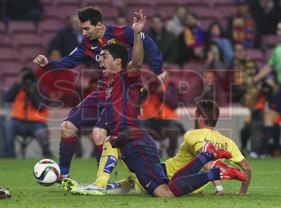 صور : مباراة برشلونة - فياريال 3-1 ( 11-02-2015 ) 1423690193249