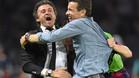 Luis Enrique ha logrado el triplete en su primera temporada en el banquillo del Barça