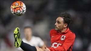 Sergio García cumple su segunda temporada en el Al-Rayyan