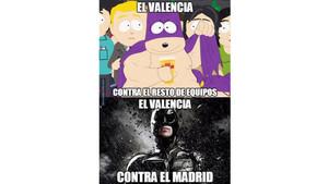 Los mejores memes del Valencia-Real Madrid