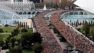 El Maratón Valencia Trinidad Alfonso EDP quiere velar por la salud de los corredores