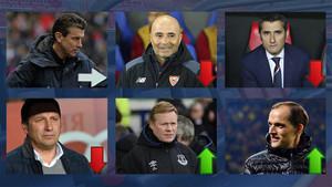 La bolsa de los futuribles entrenadores del FC Barcelona