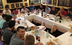 La plantilla del Barça Lassa hizo piña