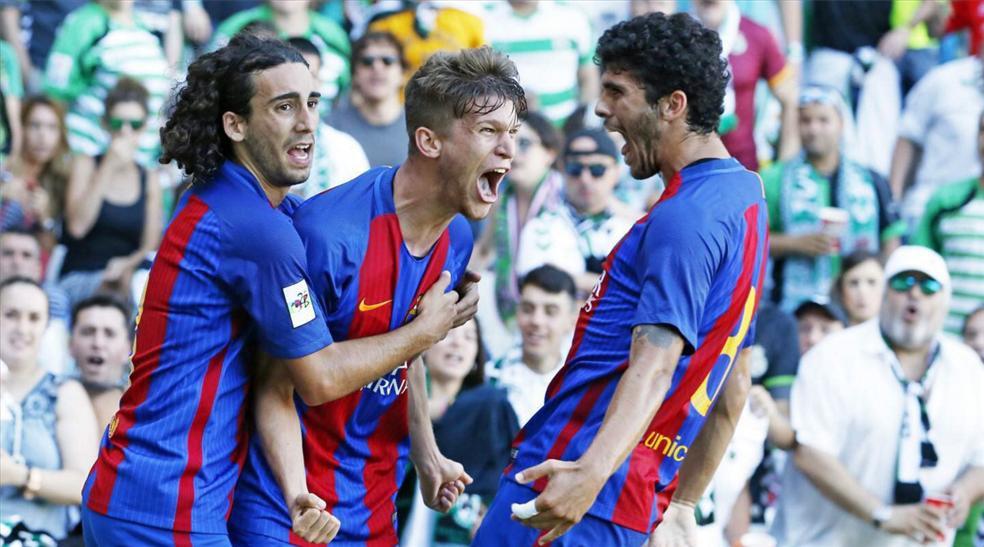 ¡El Barcelona B, a Segunda División! (ES)